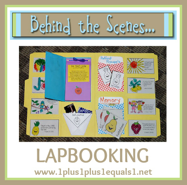 Behind the Scenes ~ Lapbooking