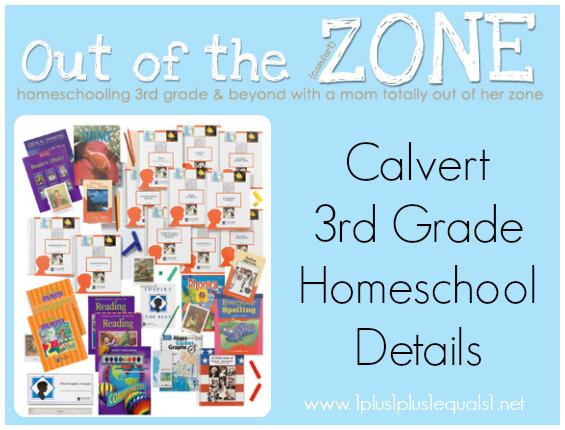 Calvert 3rd Grade Homeschool Details