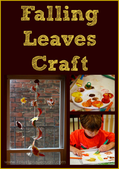 Falling Leaves Craft