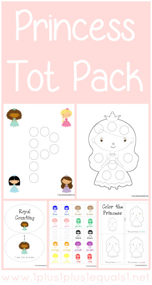 Princess Tot Pack