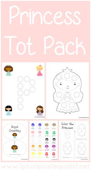 Princess Tot Pack