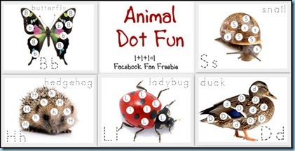 Animal ABC Dot Fun Extra Animals