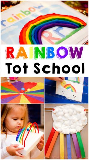 Rainbow Theme Tot School