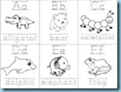 Animal ABC Flashcards 2