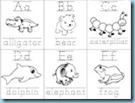 Animal ABC Flashcards 2