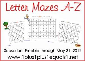 Letter Mazes Bundle