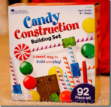 Homeschool Learning Resources Candy Construction Building Set-8302