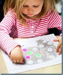 Stickers on Dots