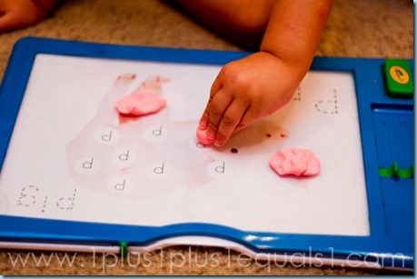 Play Dough Dot Fun