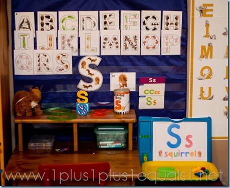 Homeschool Tot School Letter S