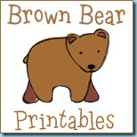 Brown Bear Printables