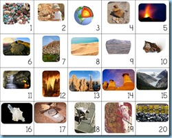 Calendar Connections Small Geology