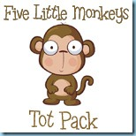 Five Little Monkeys Tot Pack