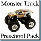 Monster Truck Preschool Printables