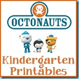 Octonauts Kindergarten Printables