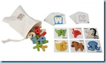 Abc wooden set