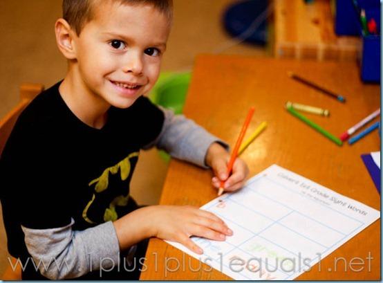 1st Grade Homeschool-3611