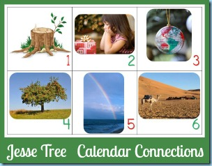 Jesse Tree Calendar Connections