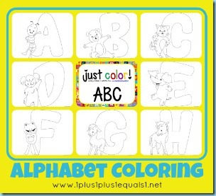 Just Color Alphabet