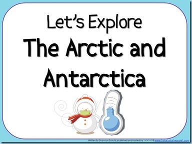 Let's Explore The Arctic and Antarctica eBook