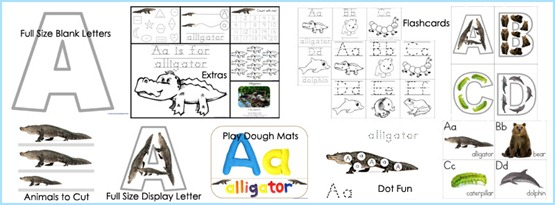 Animal ABCs What is Included