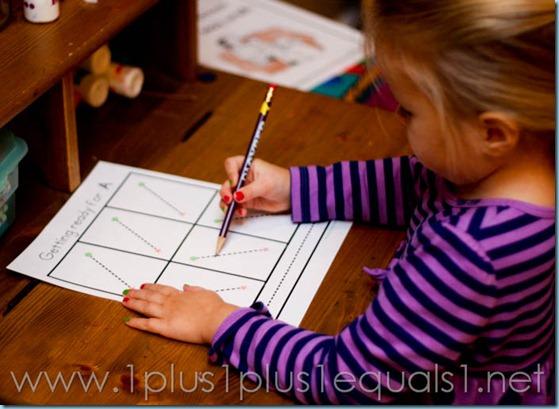 Home Preschool Letter A -8089