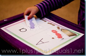 Home Preschool Letter A -8092