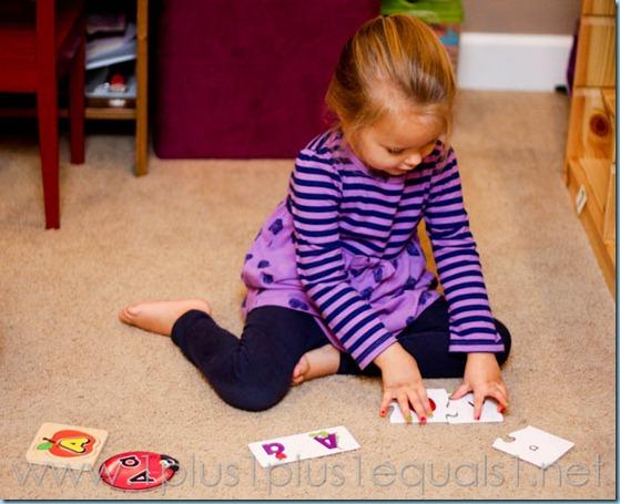 Home Preschool Letter A -8131