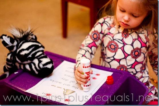 Home Preschool Letter A -8175