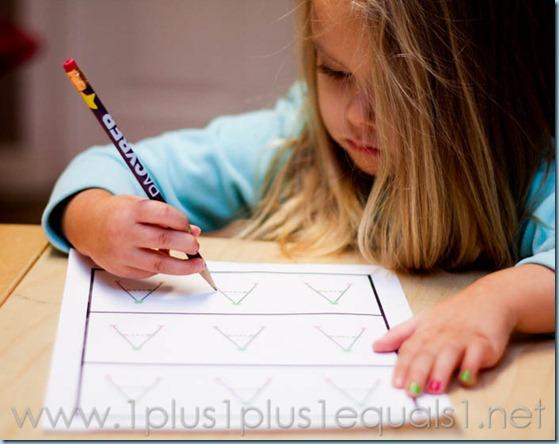 Home Preschool Letter A -8181