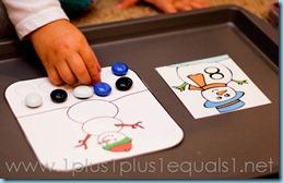 Home Preschool Winter Theme -7111