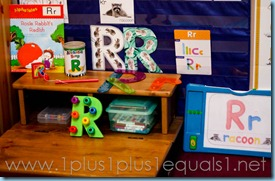 Homeschool Tot School Letter R -9617