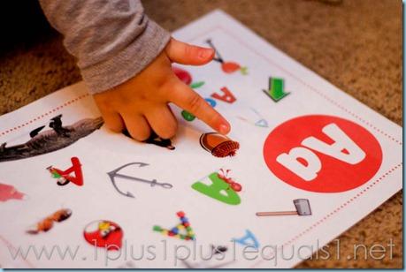 Preschool Letter A-8035