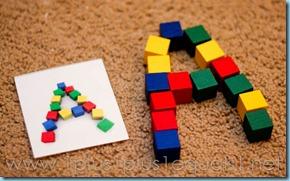 Preschool Letter A-8047