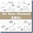 Tot Time Notebook ABCs