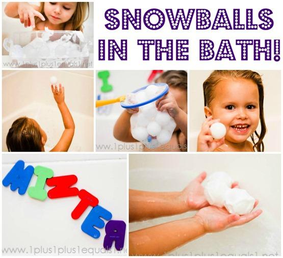 Winter Bath Fun