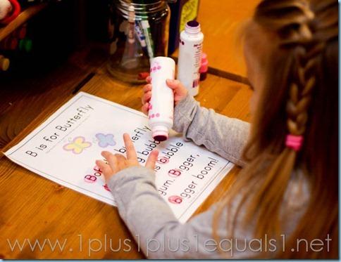 Home Preschool Letter B -8461