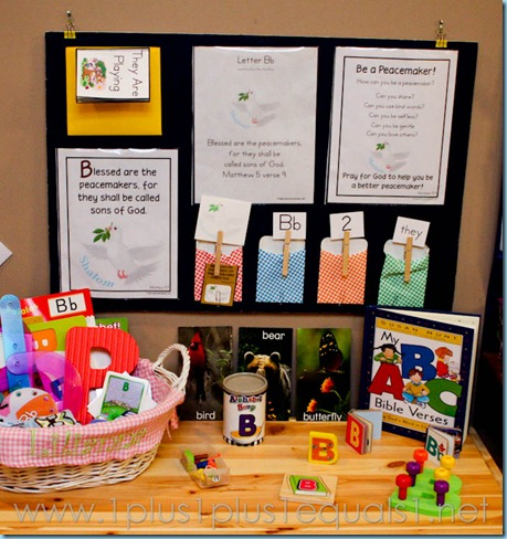 Home Preschool Letter B -8515
