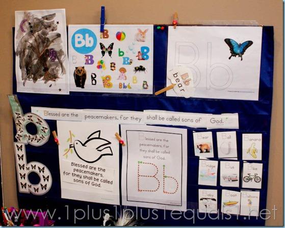 Home Preschool Letter B -8517