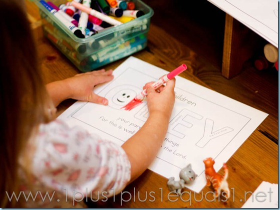 Home Preschool Letter C -9215