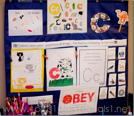 Home Preschool Letter Cc-9388