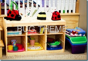Bug Theme in Homeschool