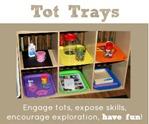 Tot Trays for Tot School