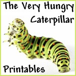 Very Hungry Caterpillar Printables