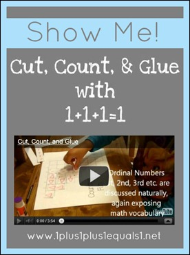 Cut, Count, and Glue Video