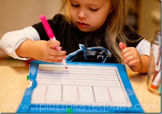 Home Preschool Letter F-1534