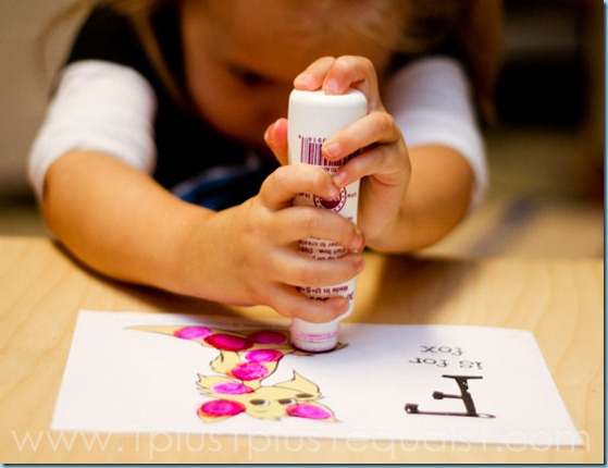 Home Preschool Letter F-1537