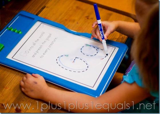 Home Preschool Letter Gg -2455