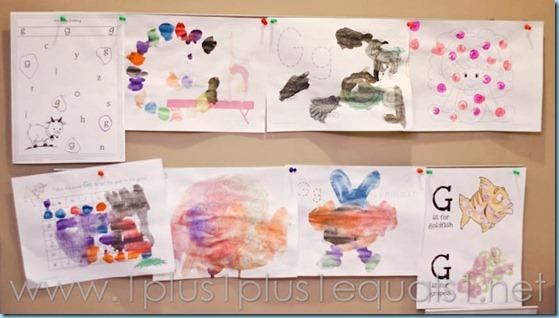 Home Preschool Letter Gg -2987