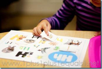 Home Preschool Letter Hh -3167